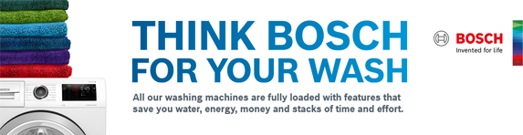 Bosch - Think Bosch For Your Wash - 31.12.2021