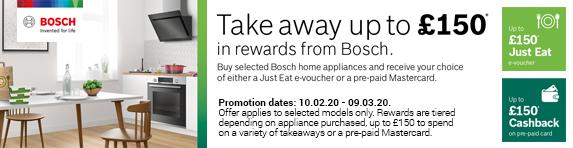 Bosch - Prepaid Card or E-Gift Card - 09.03.2021