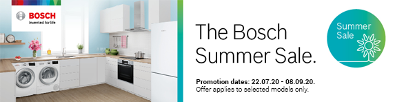 Bosch Summer Sale 22.07.2020 - 08.09.2020