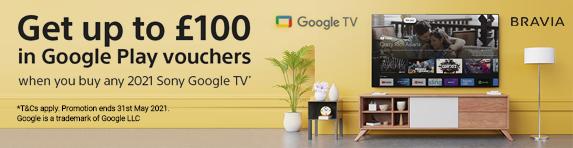 Sony - Google Play Voucher - 31.05.2021