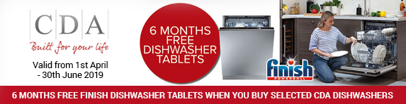 CDA Free Dishwasher Tablets Promotion 01.04.2019 - 30.06.2019