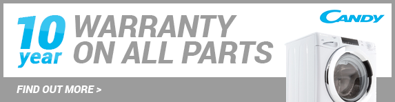 Candy - 10 Year Warranty Banner - 31.12.2021