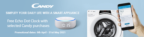 Candy - Free Echo Dot with Clock - 31.05.2021