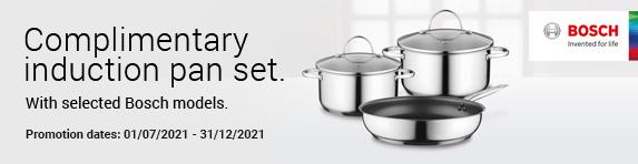 Bosch - Complementary Pan Set - 31.12.2021