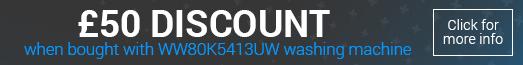 Samsung DV80M5013QW £50 Bundle Discount Promotion