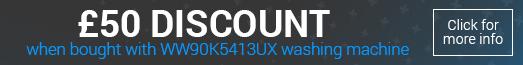 Samsung DV90K6000CX £50 Bundle Discount Promotion 2