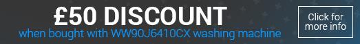 Samsung DV90K6000CX £50 Bundle Discount Promotion