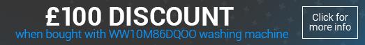 Samsung DV90N8288AX £100 Bundle Discount Promotion