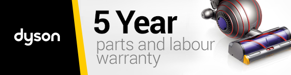 Dyson - 5 year guarantee - Agency and Non Agency - 31.12.2020