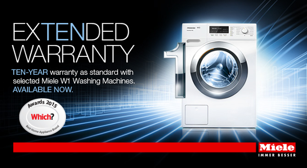 Miele - WCE320 10 years Extended Warranty