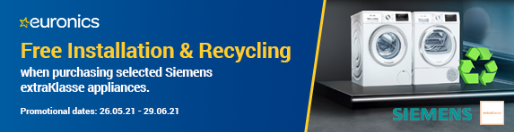 Siemens - Free Installation and Recycling - 29.06.2021