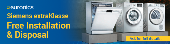 Siemens Free Installation and Disposal 15.05.2019 - 30.06.2019