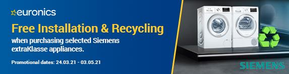 Siemens - Free Installation and Disposal - 03.05.2021