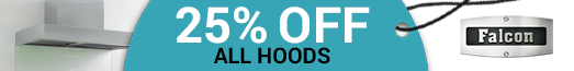 Falcon - 25% off all hoods with a Range Cooker - 01.01.2017-31.03.2017
