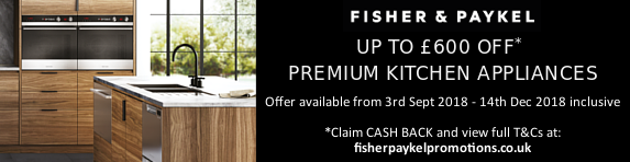 Fisher & Paykel Cashback 03.09.2018 -14.12.2018
