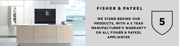 Fisher and Paykel - 5 year guarantee - 31.12.2021