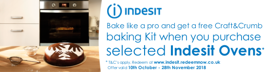 Indesit Free Baking Kit 10.10-28.11.2018