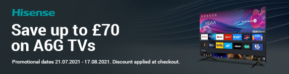Save up to ?70 on A6G TVs
