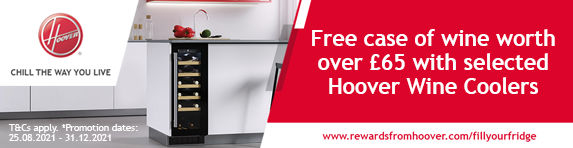 Hoover - Free wine with selected wine coolers - 31.12.2021