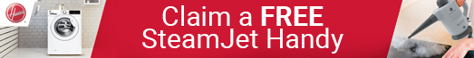 Hoover - Free Steamjet Handy - 31.10.2021