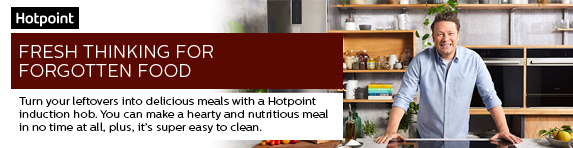 Hotpoint Fresh Thinking Campaign with Jamie Oliver - Induction Hob - 27.10.2019
