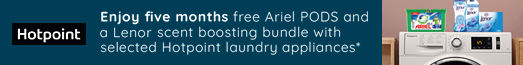 Hotpoint Free Ariel Promotion 01/07/2020 - 31/08/2020