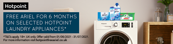 Hotpoint - Free Ariel for 6 months - 31.07.2021