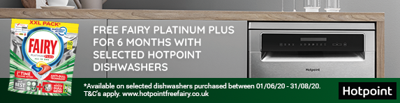 Hotpoint Free Fairy Promotion 01.06.2020 - 31.08.2020