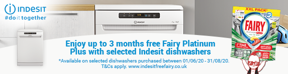Indesit Free Fairy Promotion