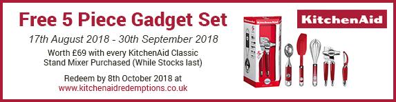 Kitchen Aid 17.08-30.09.2018