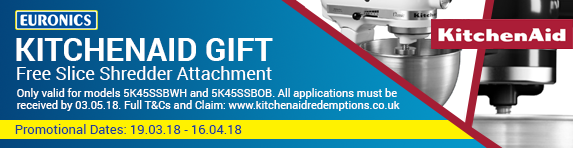 Kitchen Aid - Free Slice Shredder Attachment 19.03-16.04
