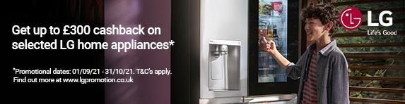 LG - Refrigeration Cashback - 31.10.2021