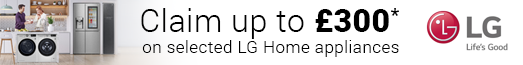 LG Home Appliance Cashback Promotion 03.06.2020 - 14.07.2020