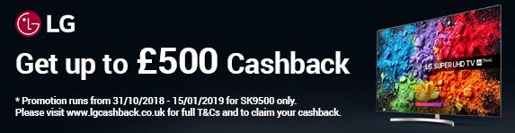 LG Cashback Promotion 31.1.2018 - 19.01.2019