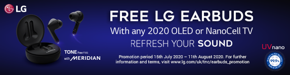 LG Free Earbuds Promotion