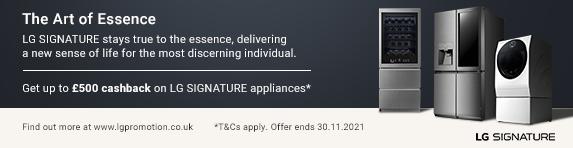 LG - Up to ?500 Cashback on Signature - 30.11.2021