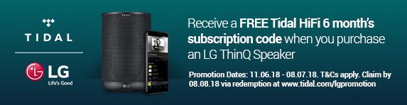LG - Tidal Promotion
