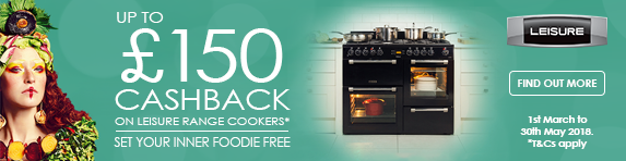 LEISURE Up to ?150 Cashback on Range Cookers