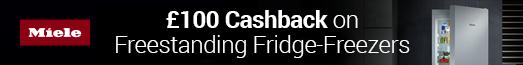 Miele - £100 Cashback - 03.10.2021