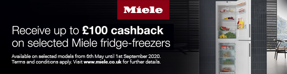 Miele Refigeration Cashback 06.05.2020 - 01.09.2020