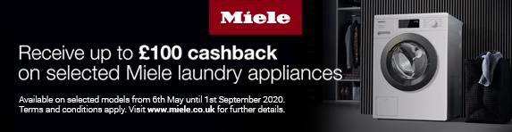 Miele Laundry Cashback 06.05.2020 - 01.09.2020