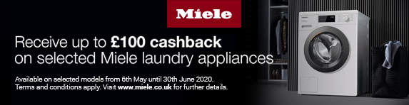 Miele - Save up to ?100 on selected Laundry Appliances - 13.01.2020 - 15.03.2020
