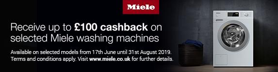 Miele Laundry Cashback 17.06.2019 - 31.08.2019
