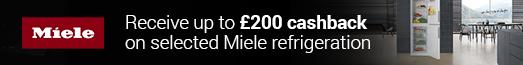 Miele Refigeration Cashback 18.03.2020 - 13.05.2020