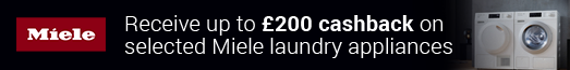 Miele Laundry Cashback 23.08.2019 - 21.11.2019