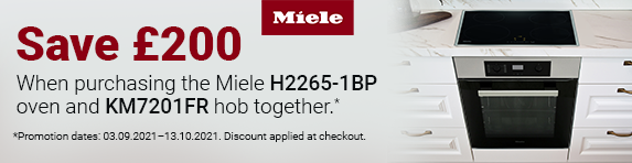Miele - Save ?200 on Oven and Hob Pack - 13.10.2021