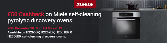 Miele ?50 Cashback Discover Pyrolytic 28.12-31.
