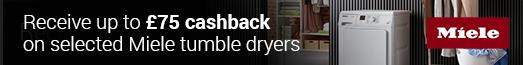 Miele Tumble Dryer Cashback 22/11/2019 - 19/01/2019