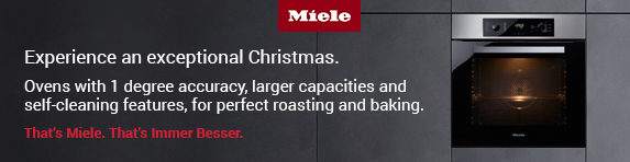 Miele Discovery oven Clean up to Christmas 29.10-31.12.2018