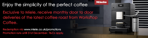 Miele Workshop Coffee Subscription - 31.12.2018